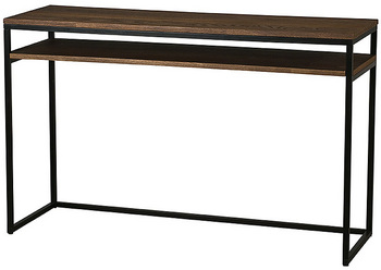 Apartment design phase one a designer 39 s diary for Sofa table urban barn