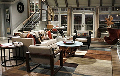 Two And A Half Men New Set Design
