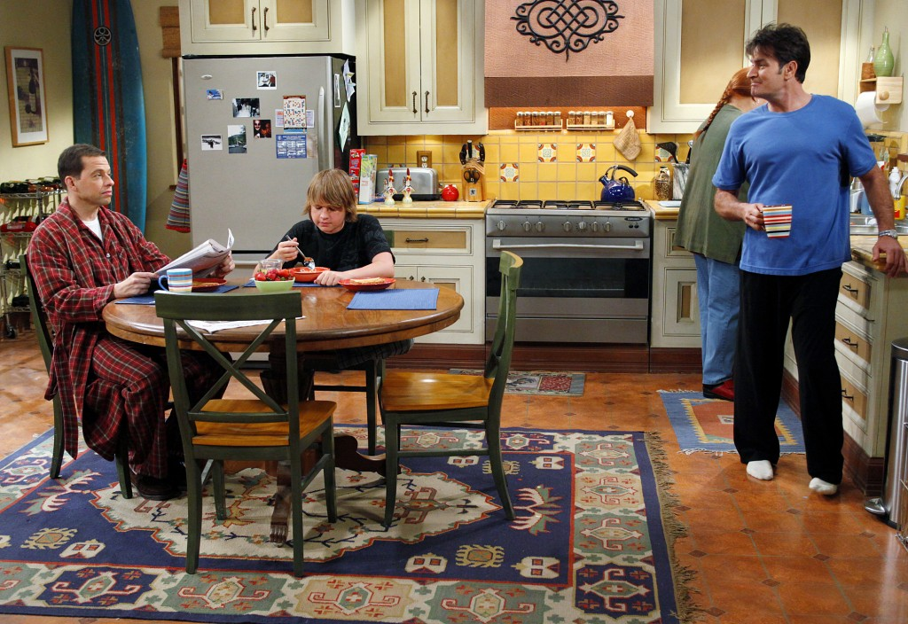 two and a half men new set design a designer 39 s diary